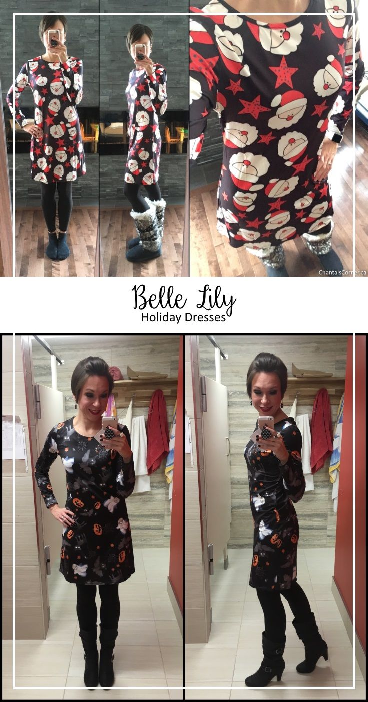 Holiday dresses from Belle Lily