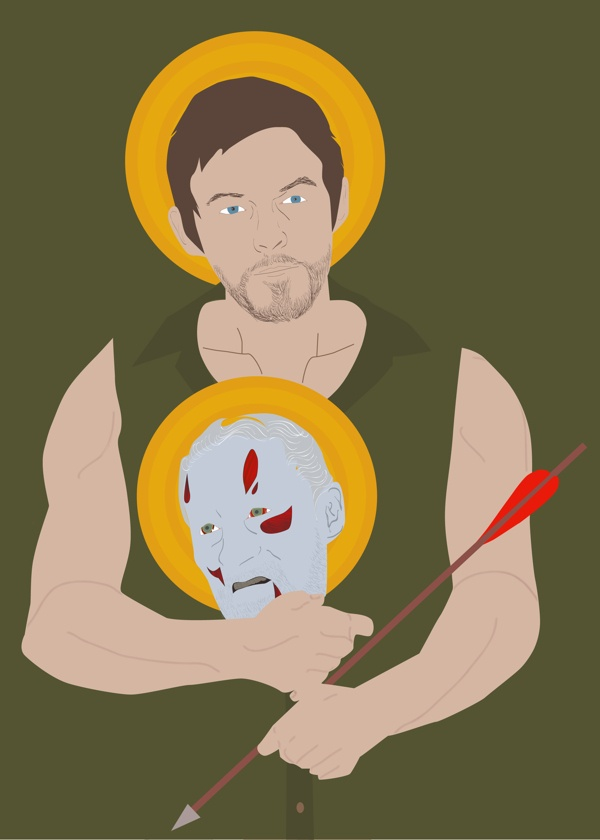 St. Daryl Dixon by Melissa Conlon, via Behance