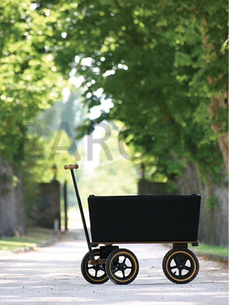 #Carretto con ruote e cesto in fibra acrilica smontabile