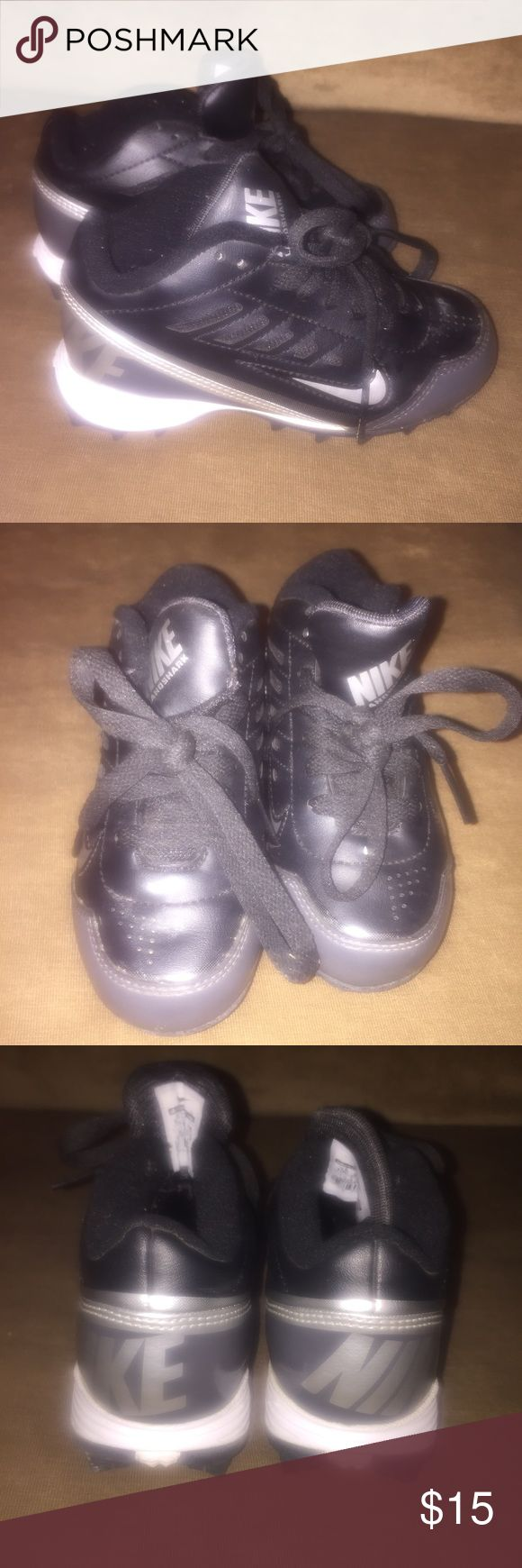 Nike toddler cleats. Size: 10C Nike toddler cleats. For baseball, soccer, football, etc. worn a few times, in good condition. Nike Shoes Athletic Shoes