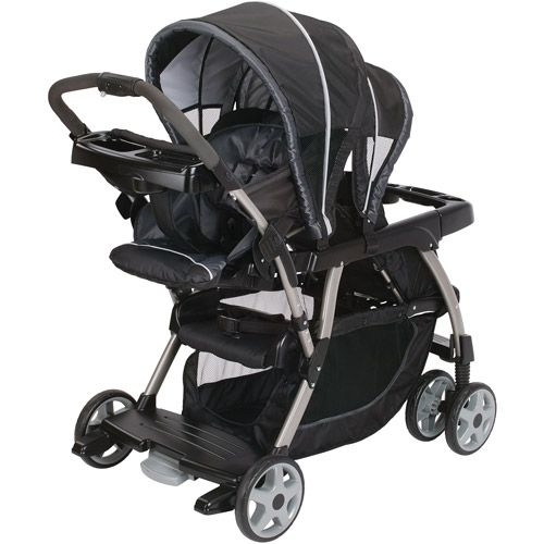Graco - Ready2Grow LX Stand and Ride Double Stroller ...