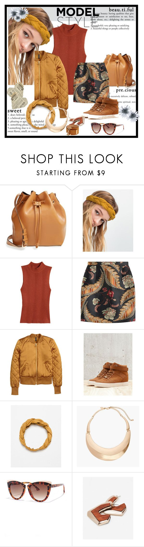 """""""Untitled #276"""" by vasso960 ❤ liked on Polyvore featuring Sole Society, Zara, H&M, Dsquared2, Bershka, Chico's and LULUS"""