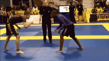 funny gifs, gifs of the week, wrestling guy fail