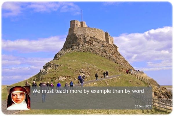 We must teach more by exmple than by word