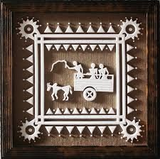 warli painting murals - Google Search
