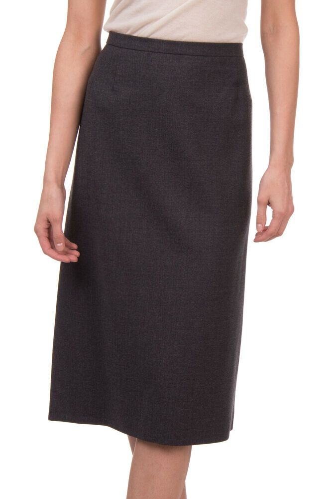 2fed2869d803 MARTINELLI Straight Skirt Size 54 / 3XL Wool Blend Grey Split Back Made in  Italy #fashion #clothing #shoes #accessories #womensclothing #skirts (ebay  link)