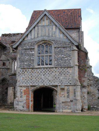Castle Acre Priory, Norfolk, England, circa 1090