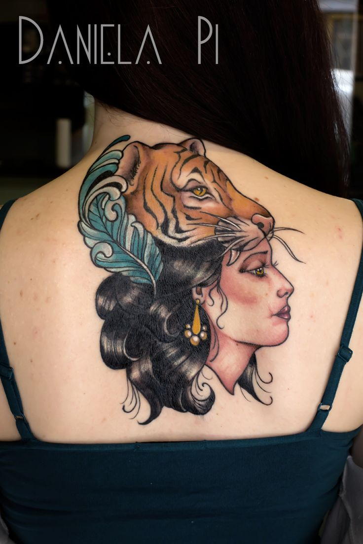 Cover up by Daniela Pi at Evil Machines Tattoo -Roma
