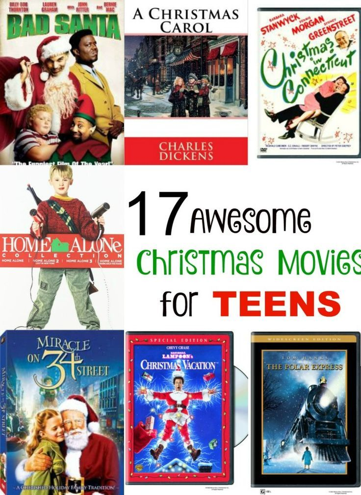 Looking For Awesome Christmas Movies For Teens Choose A Few Holiday Movies And Settle In For A Fun Holida Best Christmas Movies Christmas Movies Family Movies