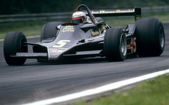 Mario Andretti Lotus 79  Zolder  1978 1st WIN for the 79