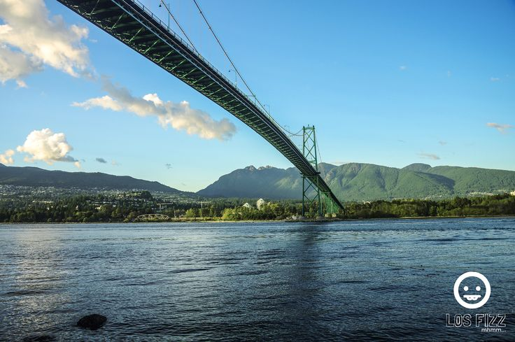 Lions Gate Bridge, Stanley Park. Vancouver, British Columbia, Canada. Pentax K3. September 2015. Shot by Los Fizz of http://www.losfizz.com/photography