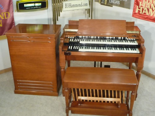 1959 Cherrywood B3 Hammond Organ leslie speaker NICE!