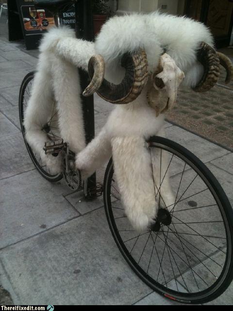 Busójárás bicikli