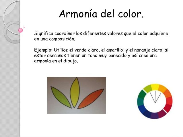 Armonia De Colores Ejemplos Buscar Con Google Armonia De Colores Colores Naranja Claro