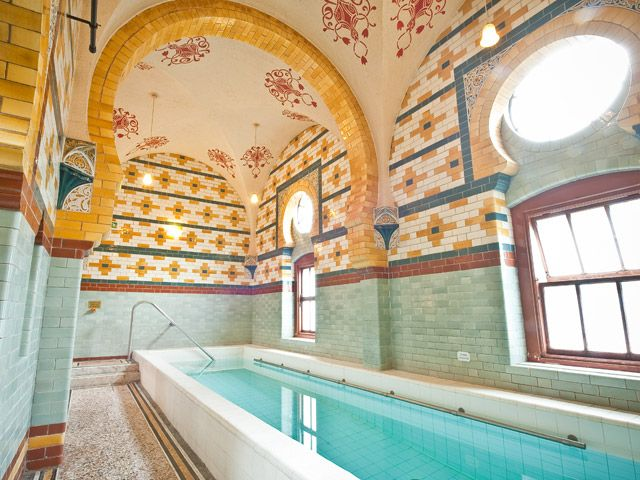 Plunge Pool: Harrogate Turkish Baths & Health Spa, #Yorkshire