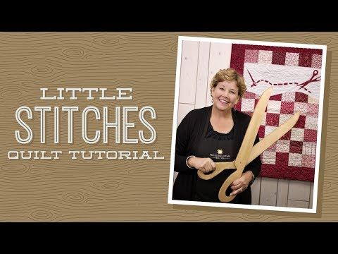 MSQC Tutorial - Little Stitches Wall Hanging