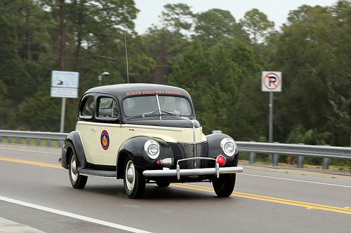 Florida State Highway Patrol 1940 Ford De Luxe