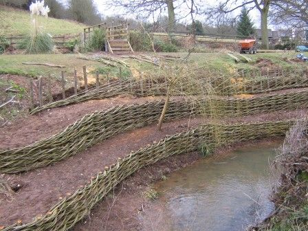 Willow spilling - Coppice Products