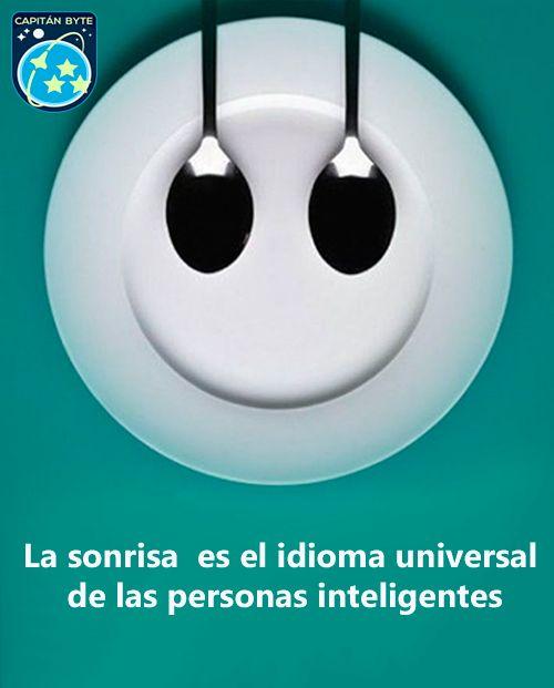 Sonreir es gratis e inteligente