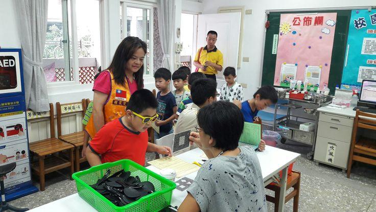 Taoyuan Loochu Woman #LionsClub (MD300 Taiwan) held a vision screening for 150 people