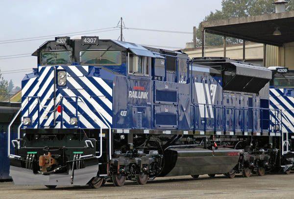 Montana Rail Link 4307 SD70ACe Photograph by: Peter Bieber