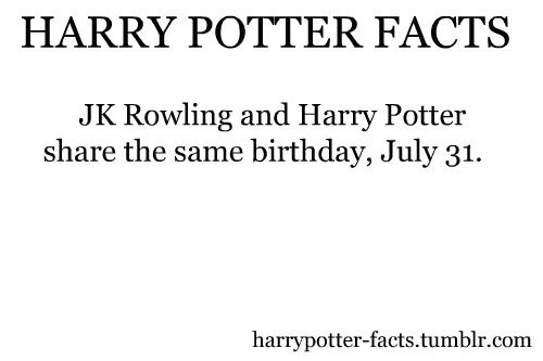 20 Facts You May Not Know About Harry Potter