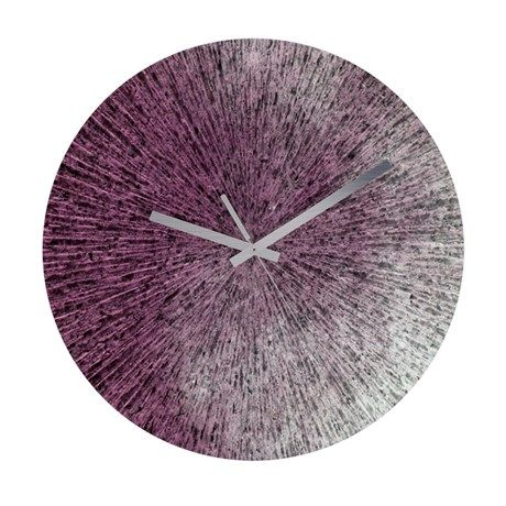 Frameless Wall Clock Texture34