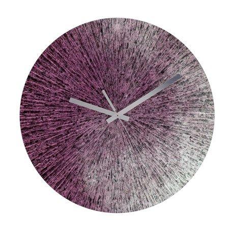Frameless Wall Clock Texture34