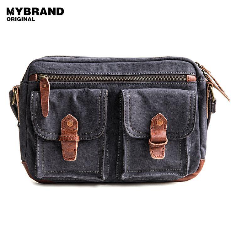MYBRANDORIGINAL messenger bag casual canvas shoulder bag for man high quality canvas bag men's crossbody bag b87