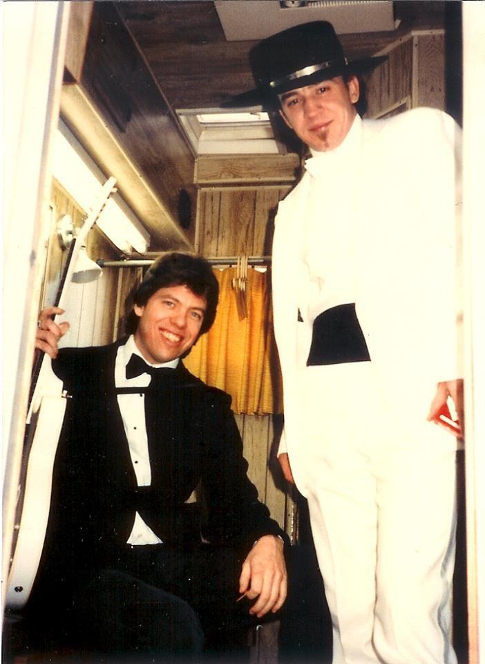 Stevie Ray Vaughn and George Thorogood