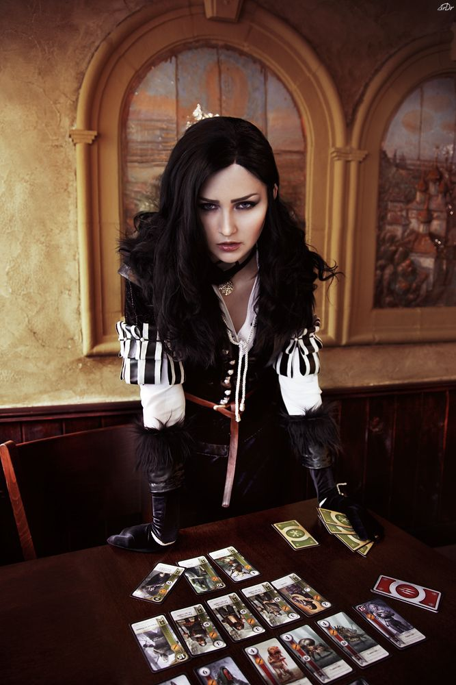Character: Yennefer of Vengerberg / From: Andrzej Sapkowski's 'The Witcher' Short Stories and Novels & CD Projekt RED's 'The Witcher' Video Game Series / Cosplayer: Vera Green (aka Verisa cosplay - ver1sa) / Photo: RianaG (2015)