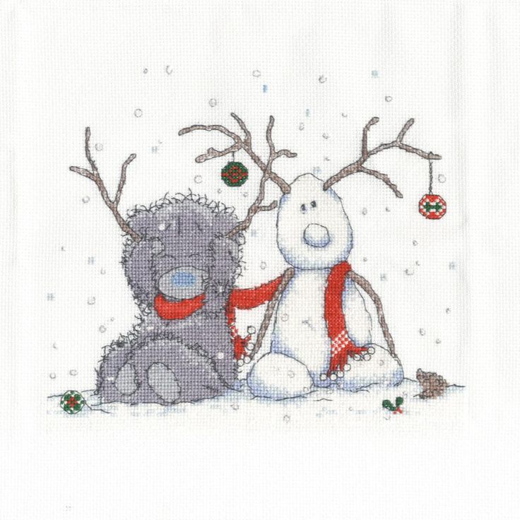My Snowman Me to You Bear Cross Stitch Kit £26.99