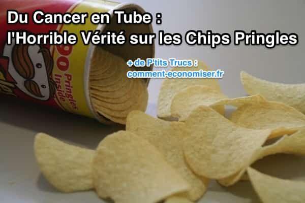Les Pringles ne sont pas faites à partir de pommes de terre ! Oui, oui vous avez bien lu. Ça paraît incroyable mais c'est bien la réalité. Et ce n'est pas moi qui le dit, c'est le fabricant des Pringles lui-même !  Découvrez l'astuce ici : http://www.comment-economiser.fr/cancer-en-tube-la-verite-sur-les-chips-pringles.html?utm_content=buffer19102&utm_medium=social&utm_source=pinterest.com&utm_campaign=buffer