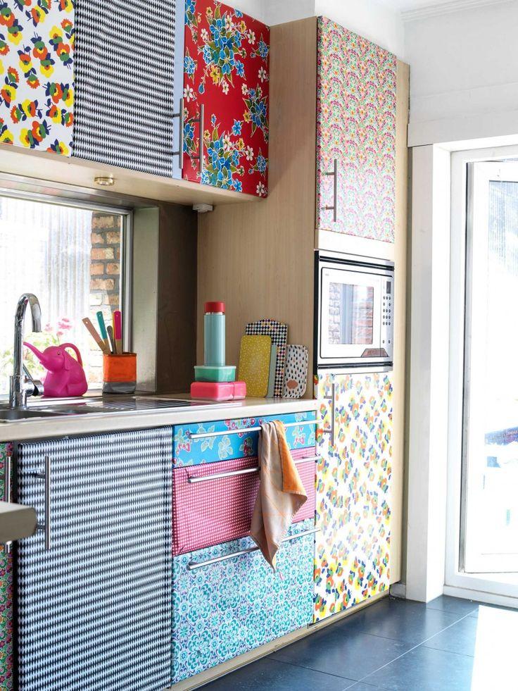 Kleurrijke keuken | Colorfull kitchen | vtwonen 10-2016 | photography: Louis Lemaire | styling: Myla Griese