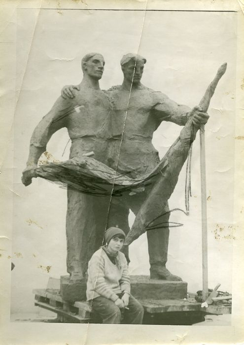 Alina Szapocznikow,  Monument to Polish-Soviet Friendship, 1954