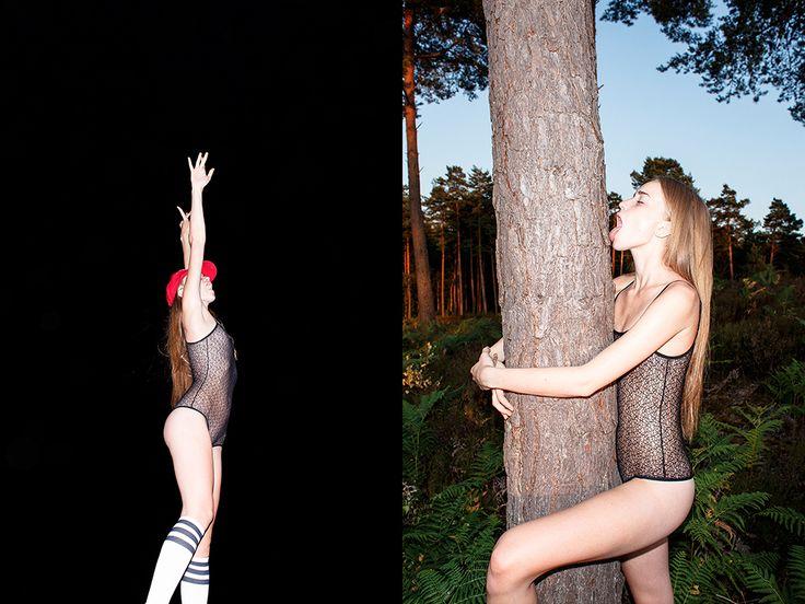 Editorial #7 : Fields and forests with Sonya par Servan-Edern Ilyne - Beware!
