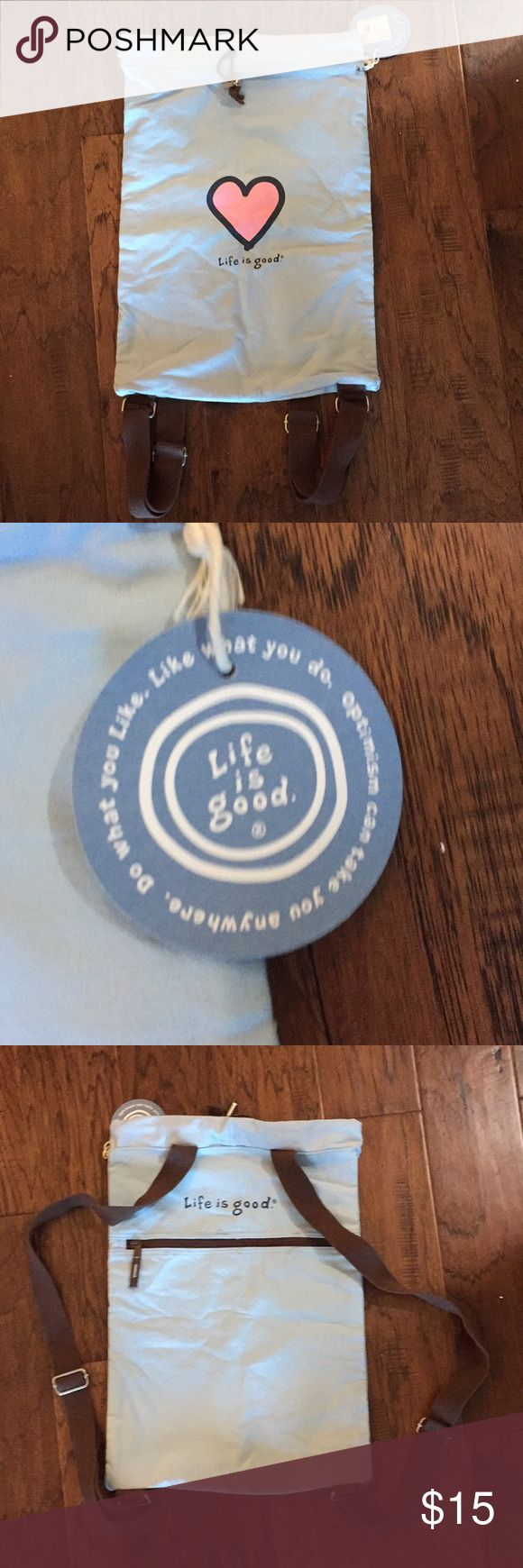 Life is Good Backpack - BNWT Life is Good Backpack - BNWT. No Trades and smoke free home. Life Is Good Bags Backpacks