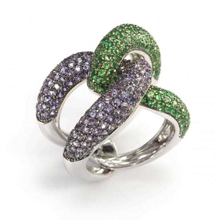 Simple Ring by Mattioli pave hu