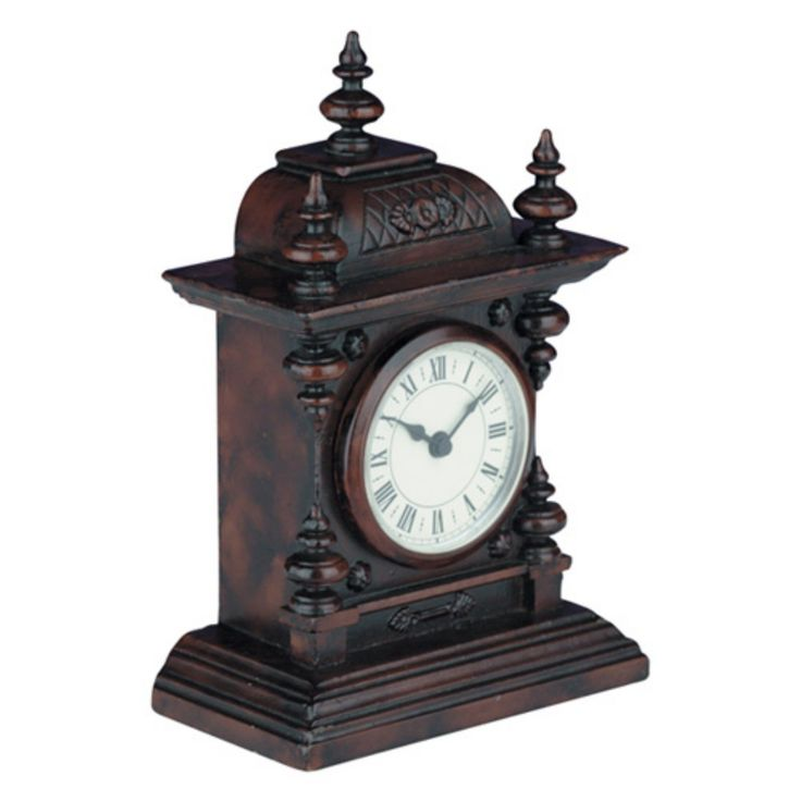Decorative Mantel Clock - 0363-BW