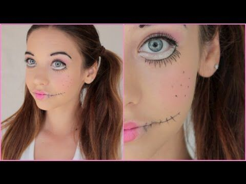 Creepy doll makeup! #makeupbymandy24 #creepydoll #halloween #makeupinspiration