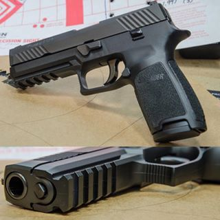 #sigsauer #sig #p320 Read review at #GunsAmerica.