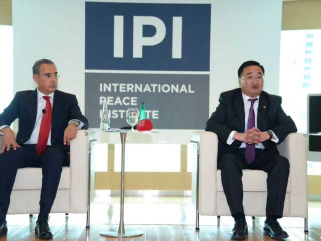 Mongolian FM Talks Partnerships, Foreign Policy at IPI MENA | International Peace Institute