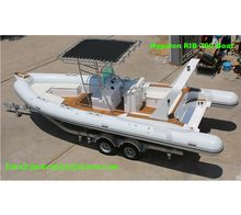 Marine supplies aluminum pontoon boat hull fishing boat for sale on Ali baba