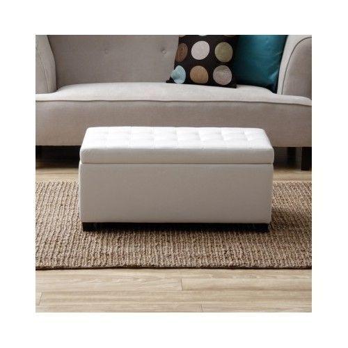 Best 25 White storage ottoman ideas on Pinterest Downstairs