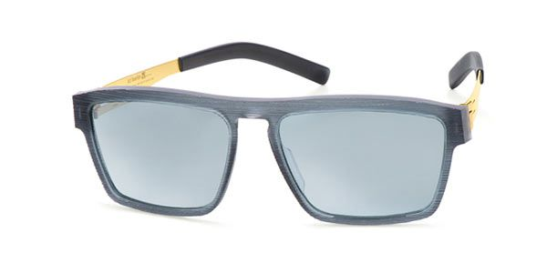 Ic! Berlin A0625 Franck C/S Rocket-Fuel-Wired - Teal Mirror Sunglasses
