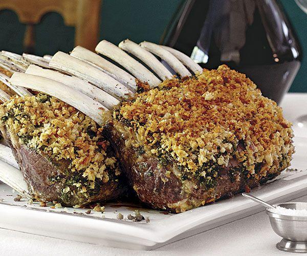 Pesto-Crusted Racks of Lamb | Recipe