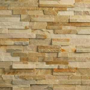How To Install Stacked Stone Tile in Your Bathroom | All Things ...