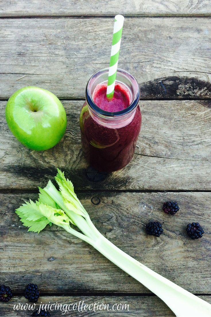 Anti-Ageing Blackberry Juice - The Juicing Collection #juicing #raw_juice #skin