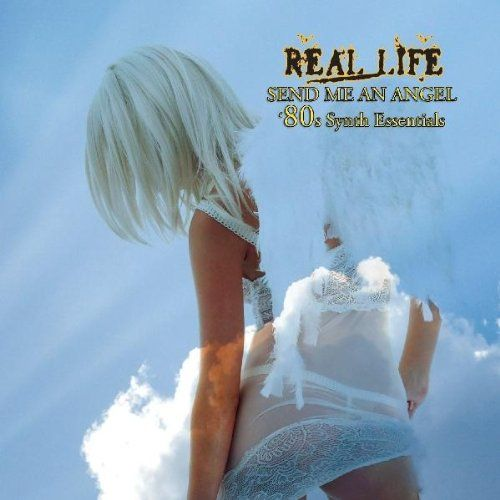 80s album covers album cover real life send me an angel 80s synth essentials cd cover. Black Bedroom Furniture Sets. Home Design Ideas
