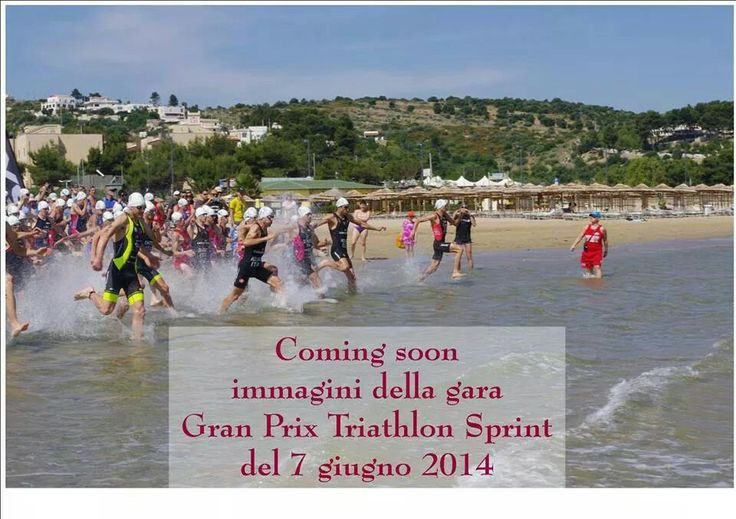 sport on the hotel i melograni #beach #triathlon (it' s not everyday like this :-) )